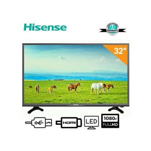 Hisense 32-Inch HD TV- Black With 12 Months Warranty