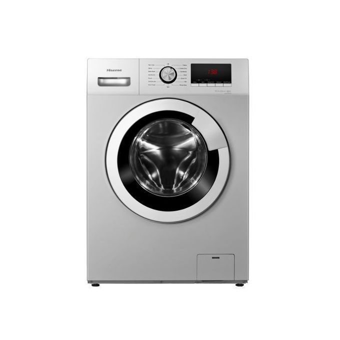 Hisense 6KG Front Load Washing Machine Smart Control, Silver 6012S