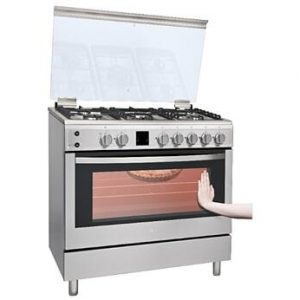 LG Gas Cooker 4 Burners 53Litres Oven Capacity