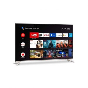 Polystar 50Inchs Andriod Smart 4K TV + Free Wall Braket.