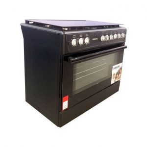 Bruhm 90 X 60  4 Gas Burners + 2 Electric Cooker