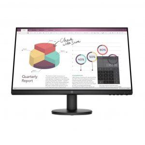 HP P24v G4 23.8″ Full HD 1920 x 1080 LED Monitor, VGA, HDMI Inputs