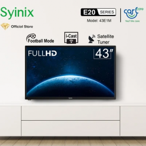 Syinix 43 Inches LED HD Digital i-Cast & Satellite TV